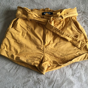 Express extreme high rise shorts